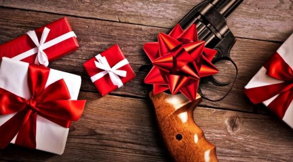 christmas gun