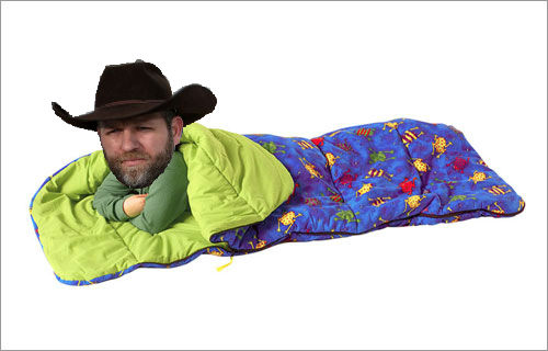 Bundy sleeping bag